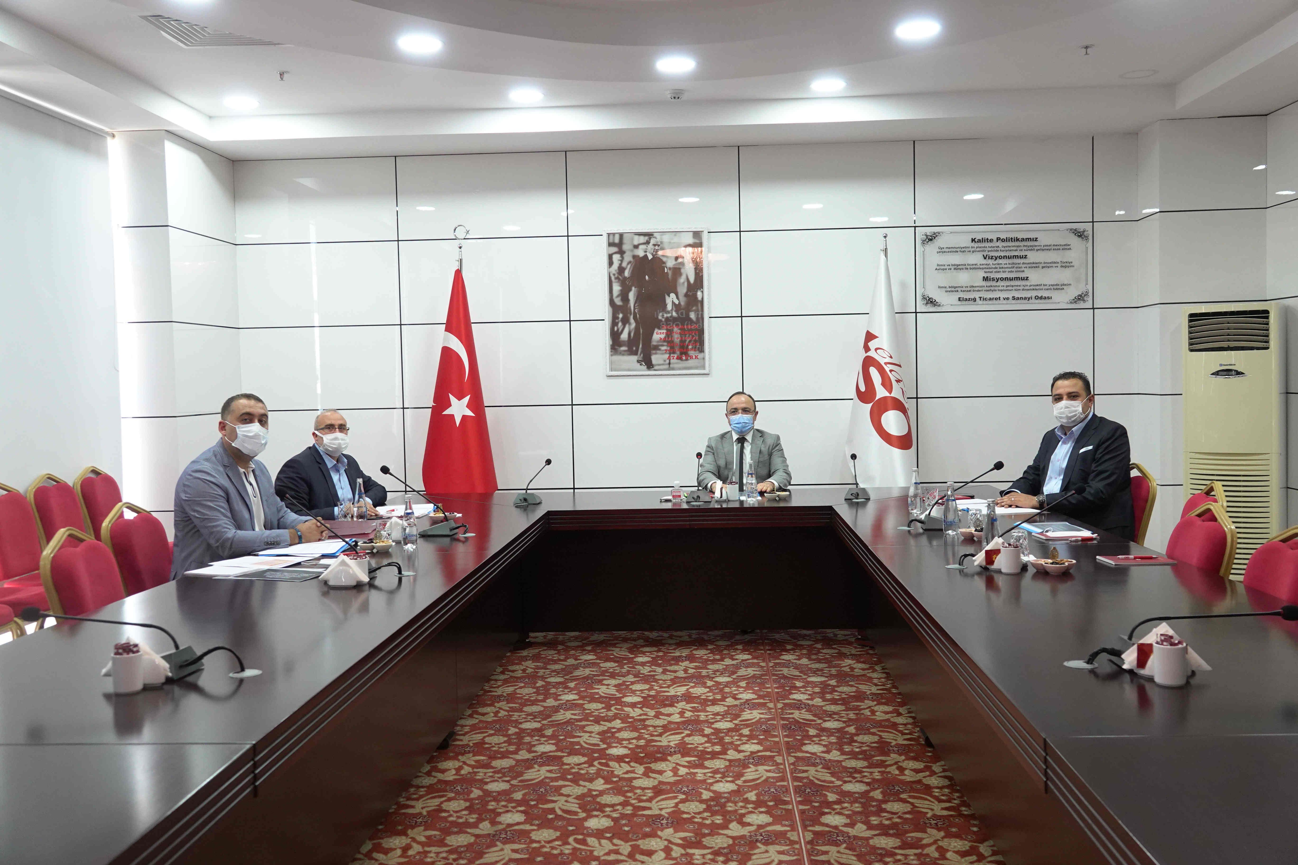 Elazığ Tarıma Dayalı İhtisas (Besi) OSB Yönetim Kurulu Toplantısı Yapıldı…