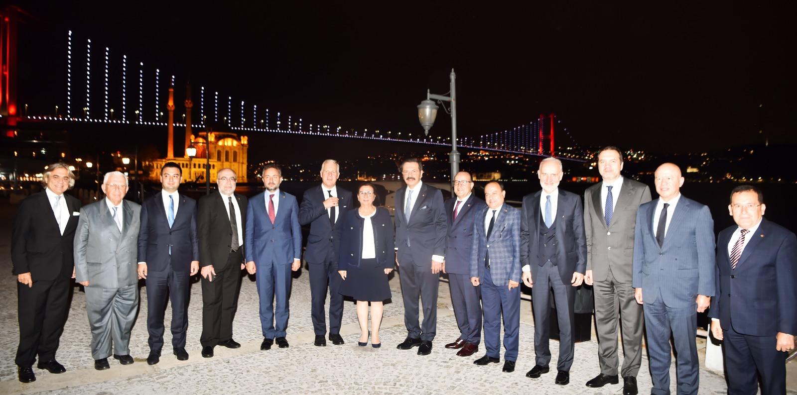 Milletlerarası Ticaret Odası (ICC) Türkiye Milli Komitesi'nden: Ticaret Savaşları, Brexit ve Çok Taraflı Ticaret Sisteminin Geleceği' Toplantısı…