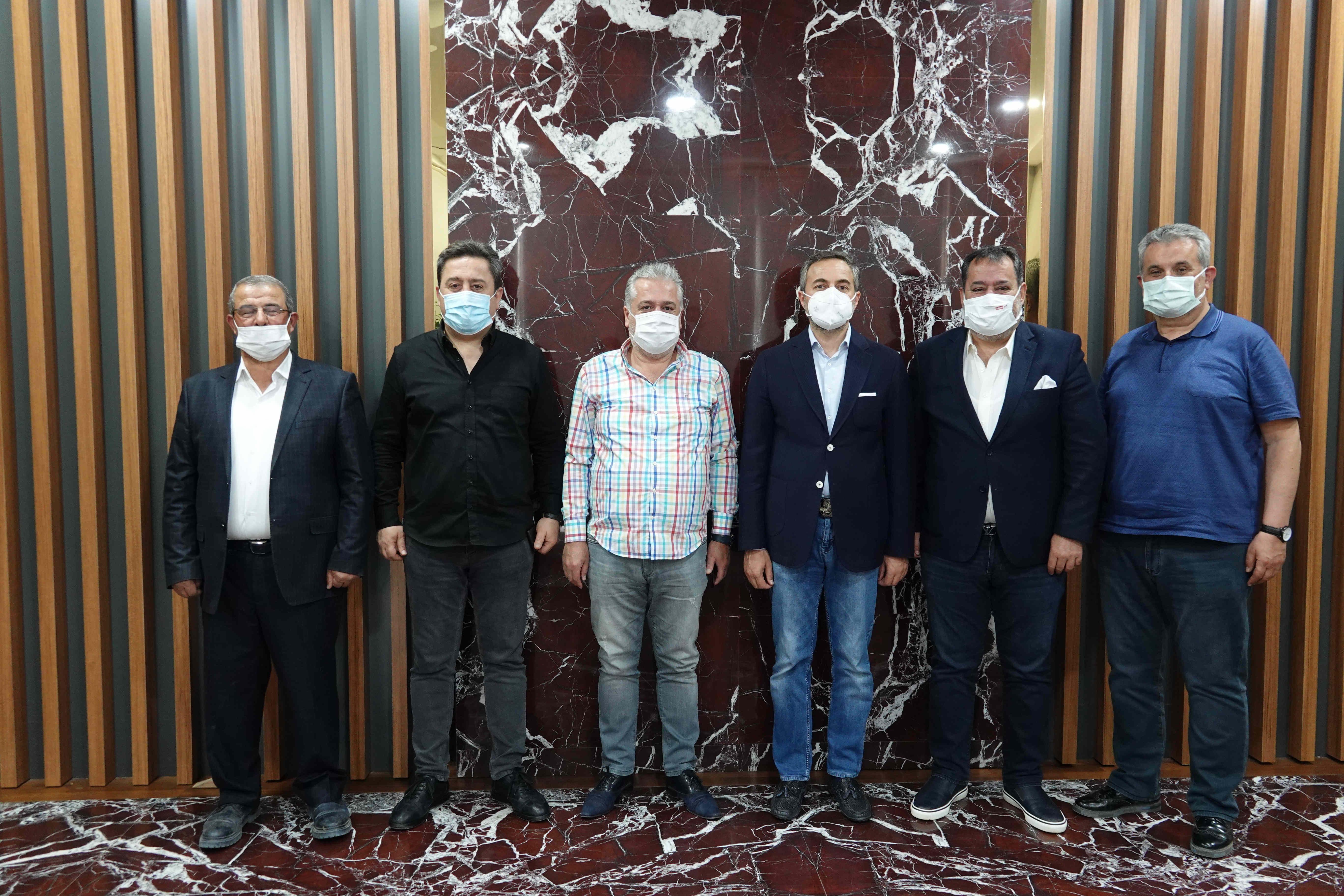 Teknoloji alanında Faaliyet Gösteren Firmalarımızdan Başkan Arslan'a Teşekkür Ziyareti…