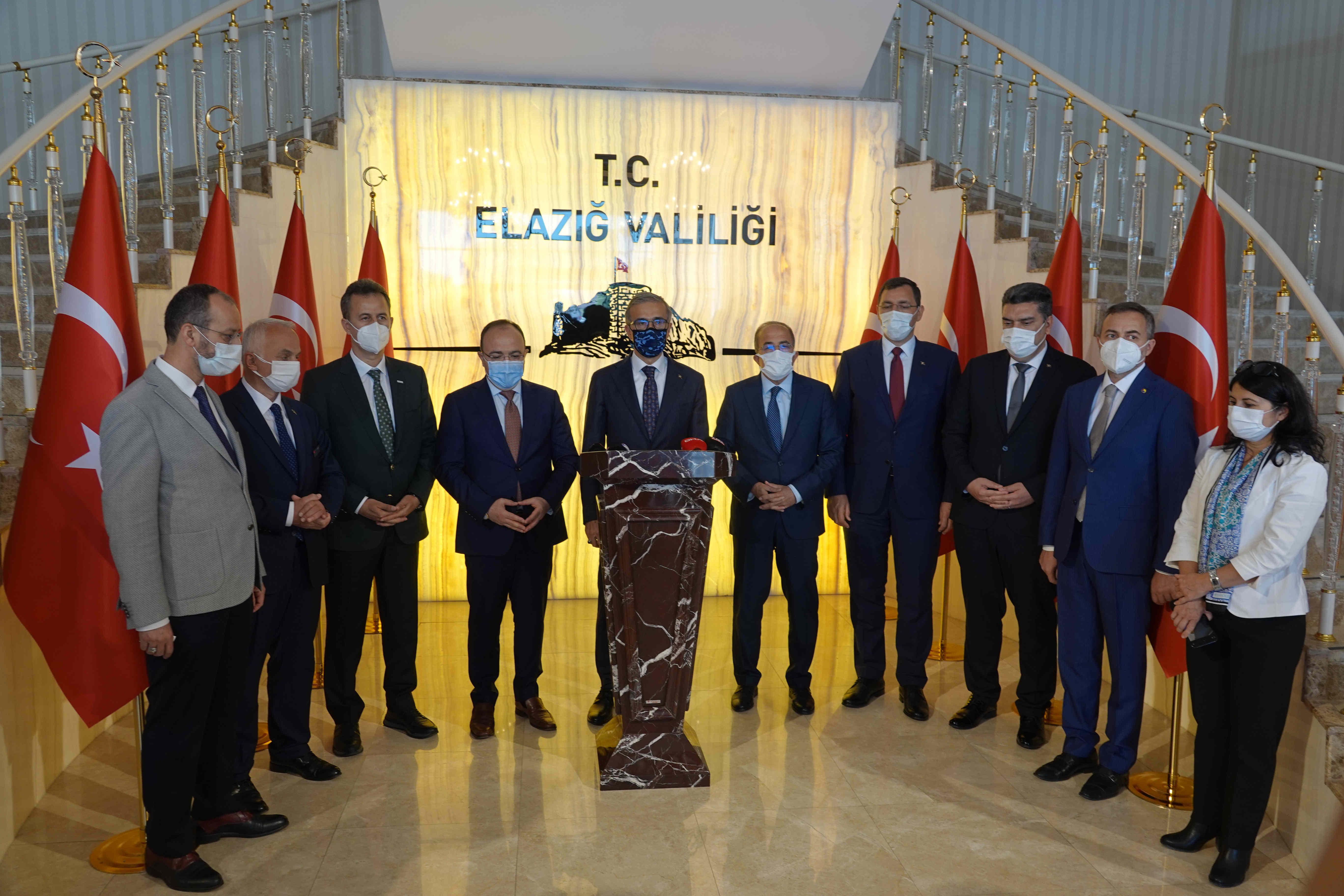 """Cumhurbaşkanlığı Savunma Sanayi Başkanlığından Elazığ'a çıkarma: """"Elazığ Buluşma Toplantısı"""""""