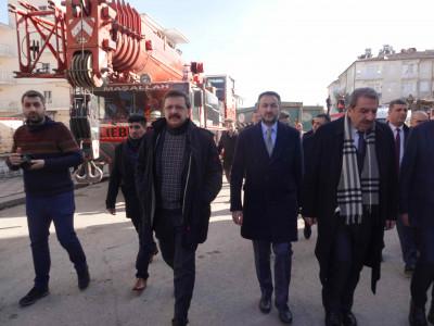 24 Ocak Depreminin Ardından TOBB Tüm İmkanları İle Elazığ'ın Yanında Yer Almıştır… a