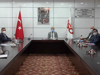 TEKNOVA OSB Yönetim Kurulu Toplantısı Elazığ TSO'da Gerçekleştirildi… a