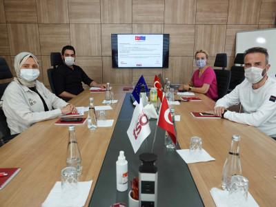 AB Proje Ekibi Toplantısı Gerçekleştirildi. a